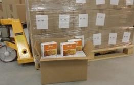 1 Palette Emergency Food, BP WR Langzeitnahrung und Krisenvorsorge, Weiterentwicklung des weltbekannten BP-5. Kostenlose Zustellung Palette BP5 in Österreich und Deutschland. -