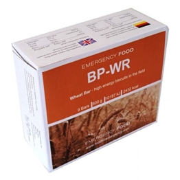 BP WR (früher BP-5), Notverpflegung, Langzeitnahrung, Karton 24 Packungen á 500g, Komprimatverpflegung -