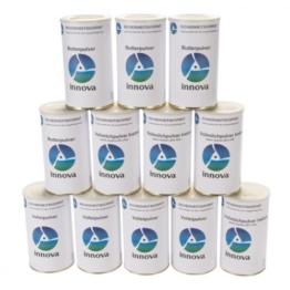 Grundnahrungsmittel Paket 1 - Langzeitnahrung dehydriert - Vorsorge, Nahrungsmittelvorrat, Krisenvorsorge mit Trockennahrung, Langzeitnahrung, (15 Jahre MHD) -