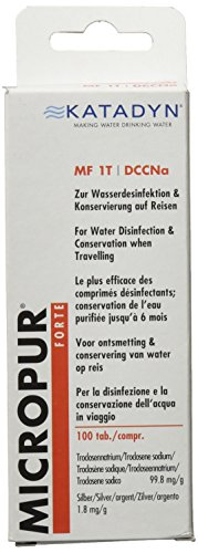 Katadyn Wasserentkeimung Micropur Forte MF 1T -