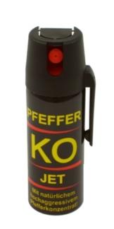 Ballistol Verteidigungssprays Pfeffer KO Jet, 50 ml, 24430, im Blister -