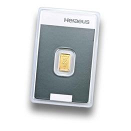 Goldbarren 1g - Feingold 999.9 - Prägefrisch - LBMA zertifiziert