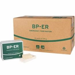 BP ER Elite Emergency Food 24 x 500 Gramm Einheit Langzeitnahrung für Outdoor, Camping und in Krisensituationen (BPA-Frei und HALAL) - 1