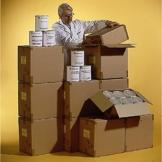 Grundnahrungsmittel 360 Tagepaket - Lebensmittelvorrat - Beste Familienvorsorge Optimal für Krisenvorsorge Langzeitnahrungsmittel Notvorrat, MHD 15 Jahre - Ohne Himalayasalz - 1