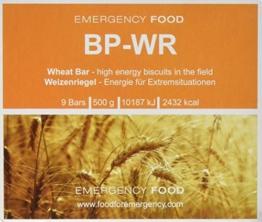 Compact - BP WR Emergency Food 500 Gramm Langzeitnahrung für Outdoor, Camping und in Krisensituationen - 1