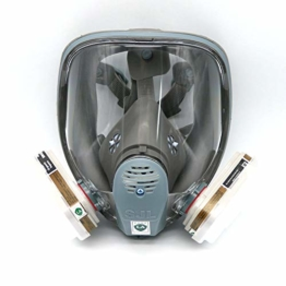 Für 6800SJL Gas Maske Full 7Maskenkörper Atemschutzmaske teilig Anzug Malerei Sprühen - 1