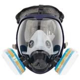 Komplette Anzug 6800 Malerei Spraying Full Face Atemschutzmaske Gasmaske Breather - 1