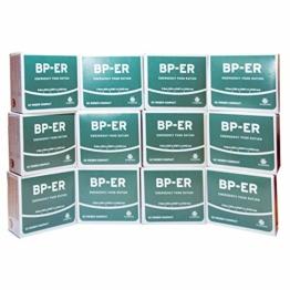 Lebenskraft BP ER Elite Emergency Food 12 x 500 Gramm, des führenden Herstellers (Charge 2020 und Zertifikat vom Händler - 1
