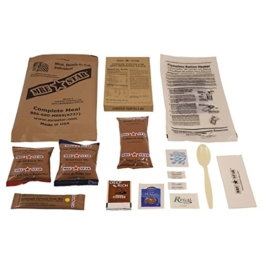 """Original US Army Food MRE Ready-to-Eat BW Notration Menü: 5 """"Cheese Tortellini"""" - 1"""