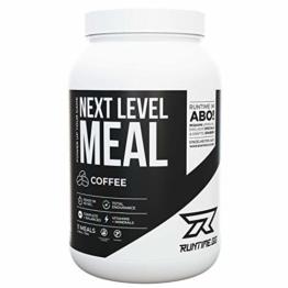 Runtime Next Level Meal Coffee - vollwertiger Nahrungsersatz, Sättigung (5-6 Stunden), Energie und Leistungsfähigkeit, mit Vitaminen und Nährstoffen und Aminosäuren, 1,65kg - 11 Mahlzeiten - 1